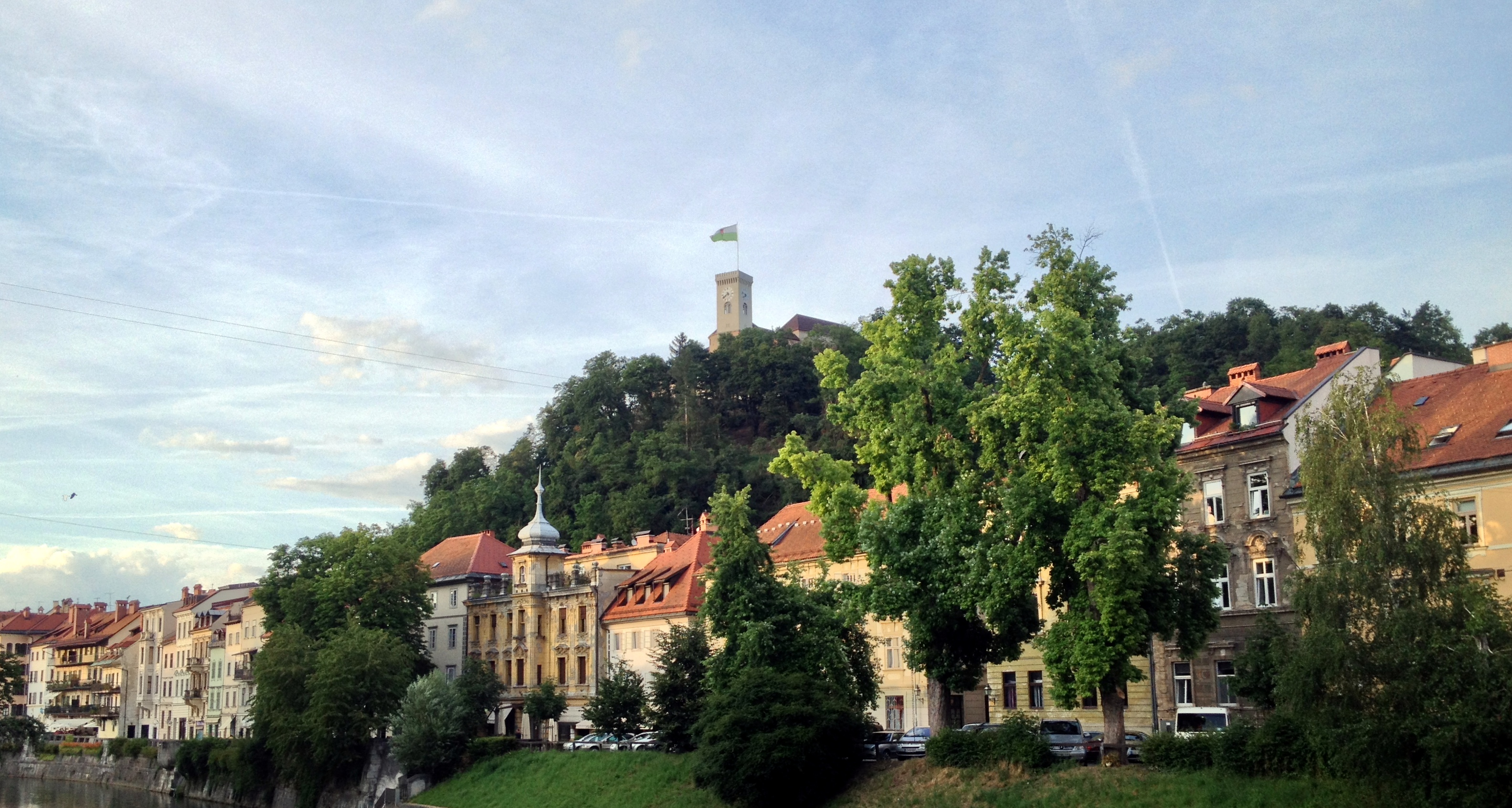 château de Ljubljana Slovénie
