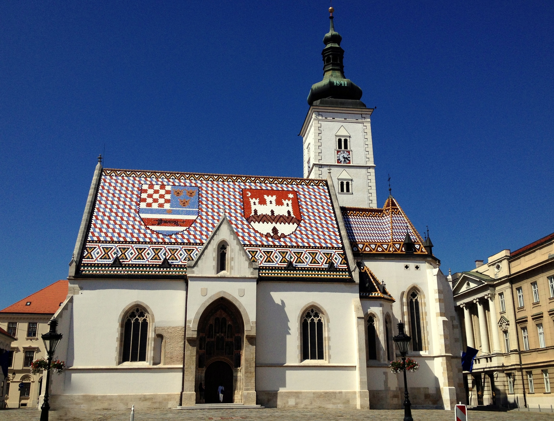 Cookie et Attila Balkan Trip Zagreb