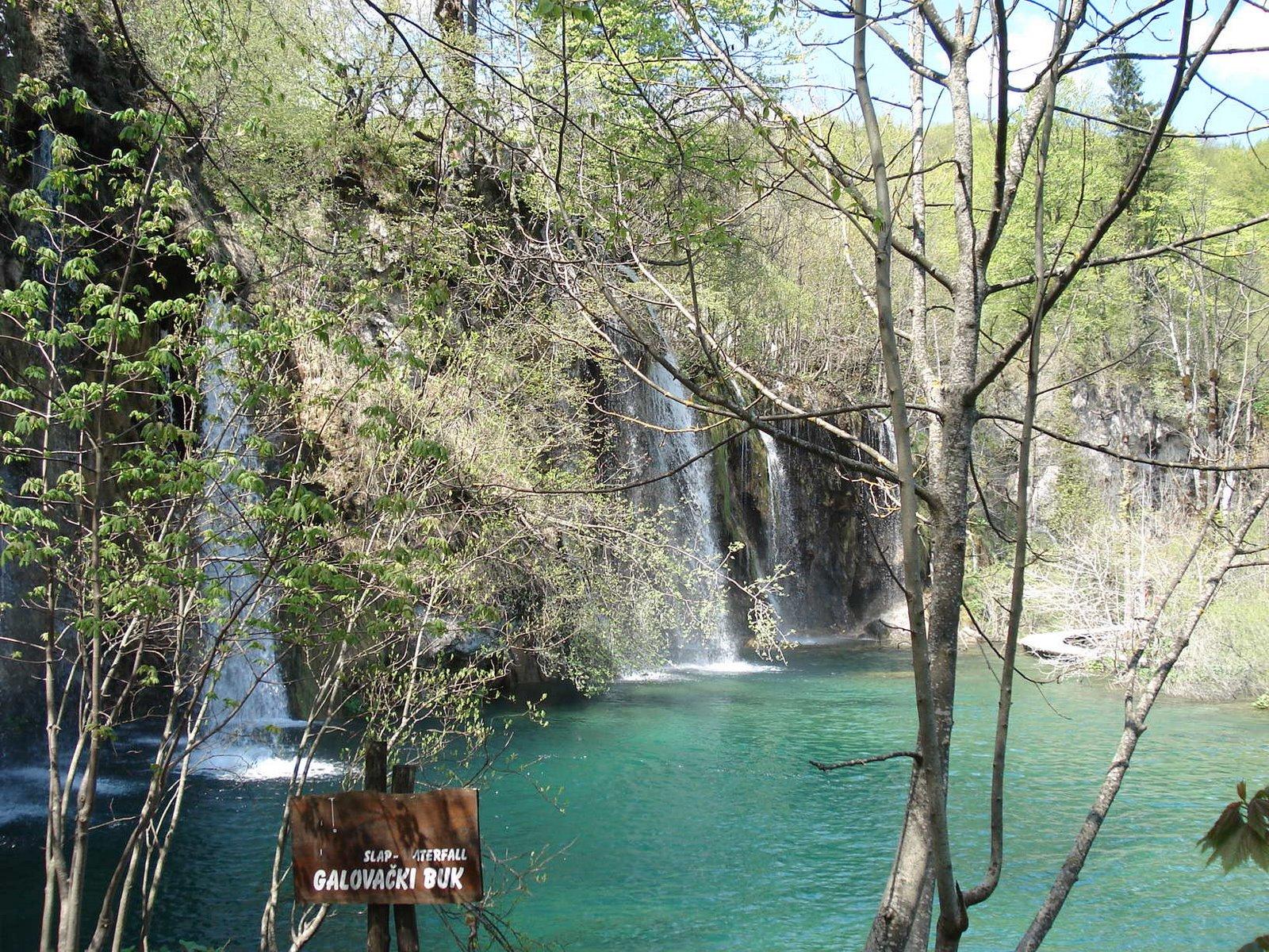 Chutes d'eau lacs de Plitvice Croatie