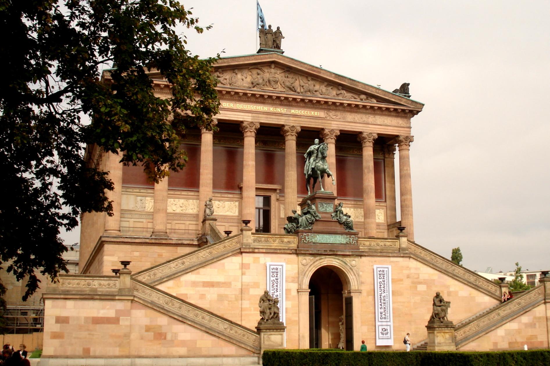 Alte Nationalgalerie à Berlin, l'île aux musées