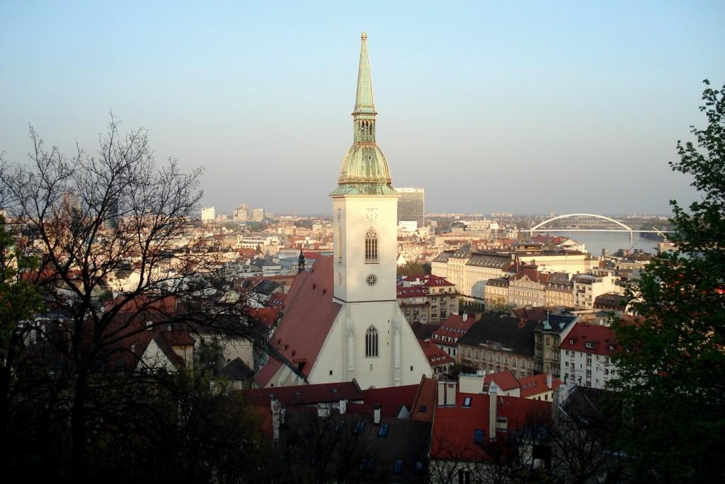 Panorama sur Bratislava - City trip