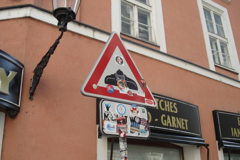 Panneau de signalisation Cumil à Bratislava