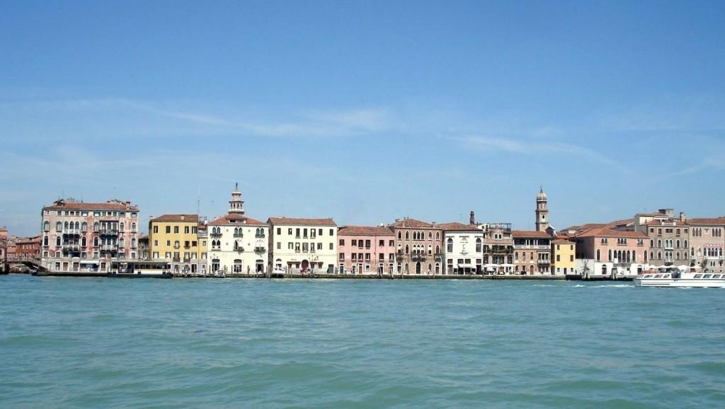 Canaux de Venise sous le soleil