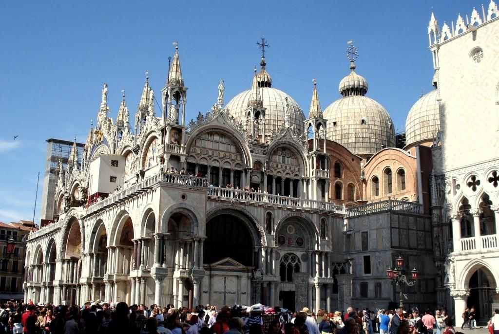 Venise et l'église Saint-Marc sous le soleil
