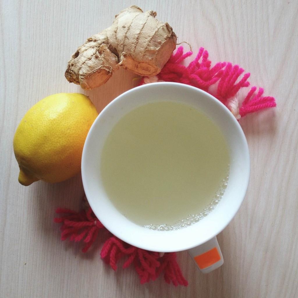 Tisane au gingembre pour donner de l'énergie