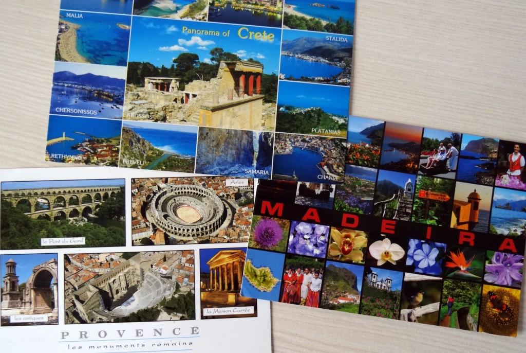 Cartes postales qui font rêver