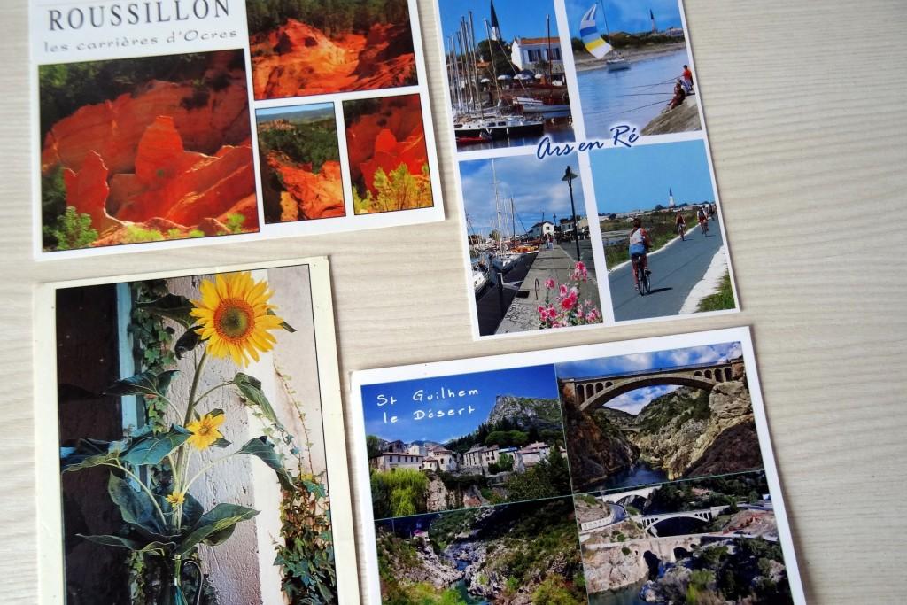 Cartes postales qui amènent du soleil
