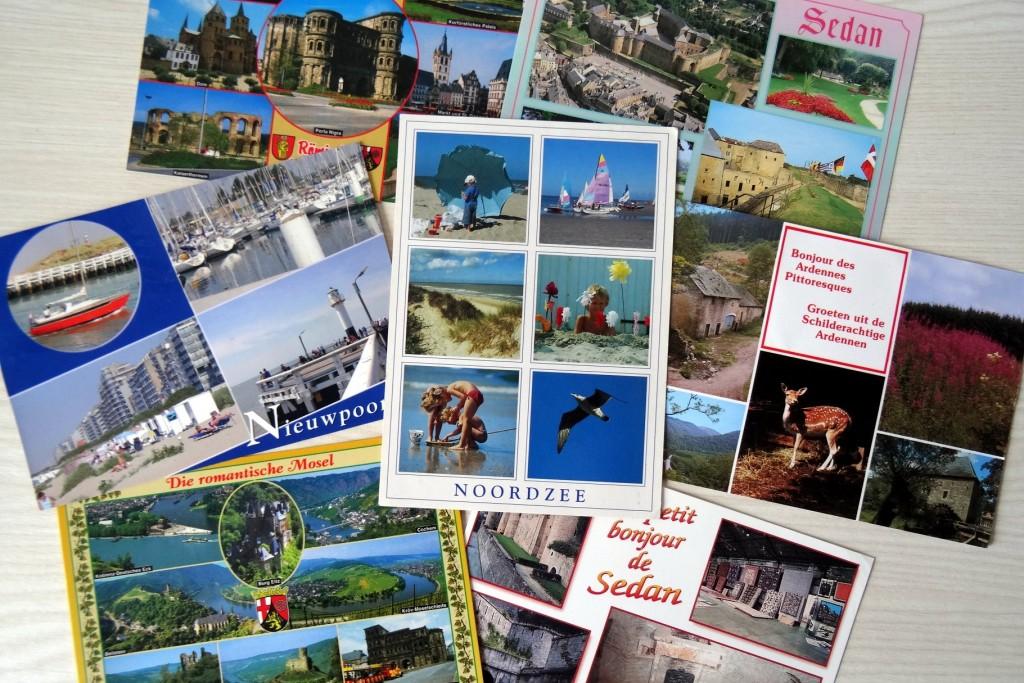 Cartes postales qui viennent de tout près