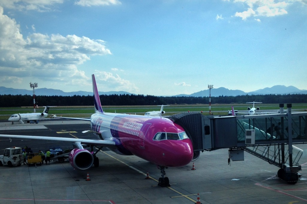 Wizz Air liaison Bruxelles-Charleroi à Ljubljana