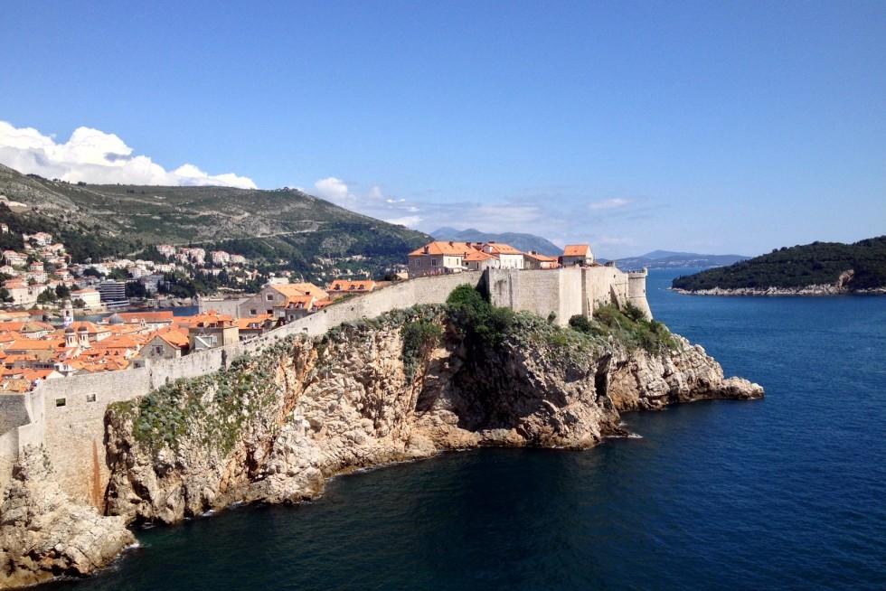 Vieille ville et rempart de Dubrovnik