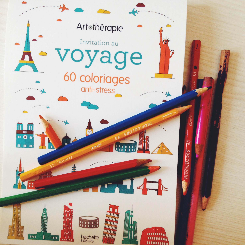 Livre de coloriage pour adultes: le voyage