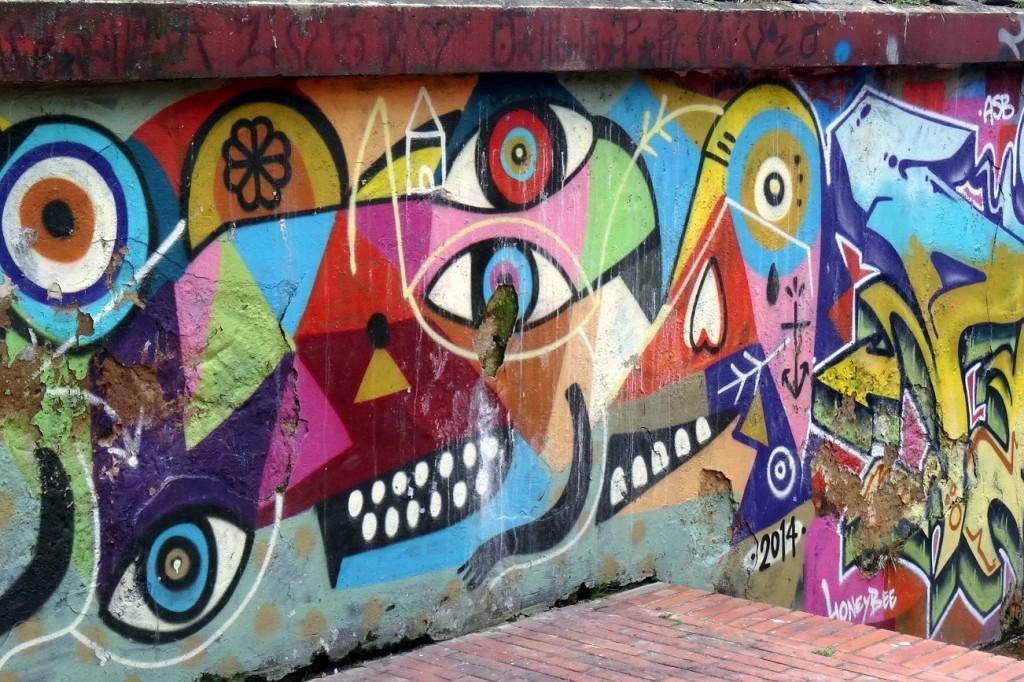 Bogota Graffiti Tour - Cookie et Attila 12