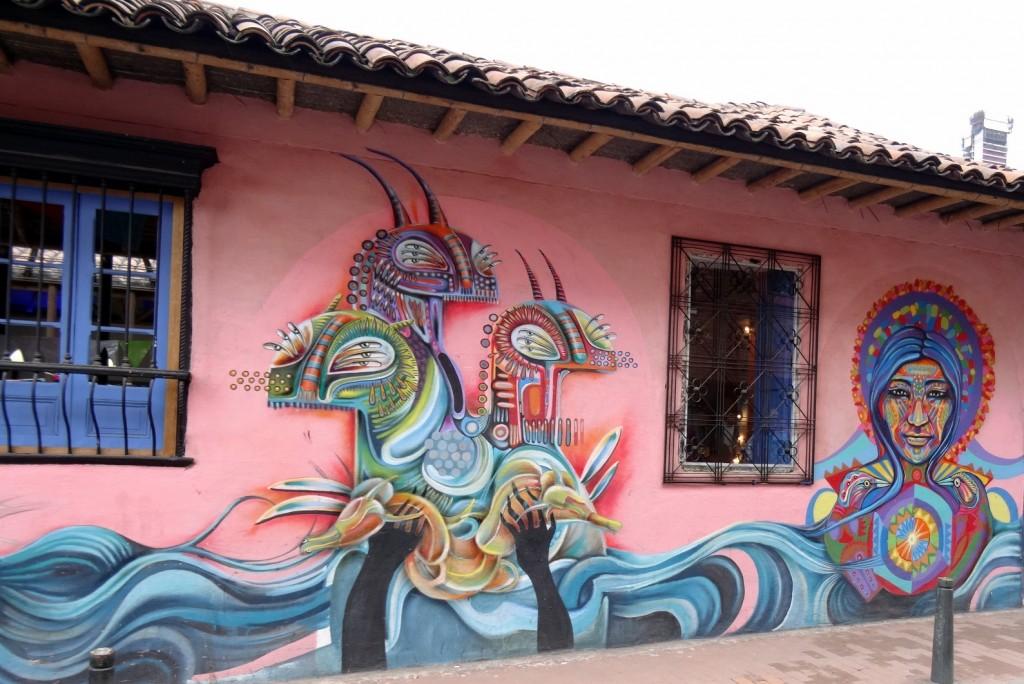 Bogota Graffiti Tour Rodez & Guache