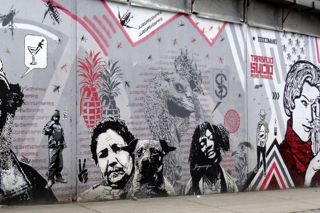 Bogota Graffiti Tour DJ LU
