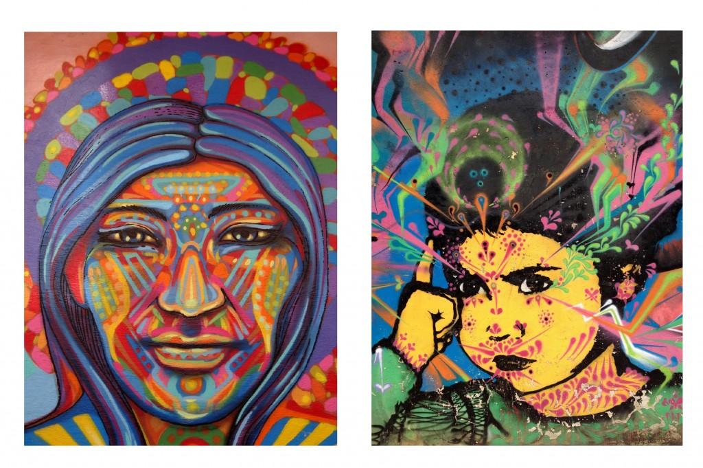 Bogota Graffiti Tour Guache & Stink