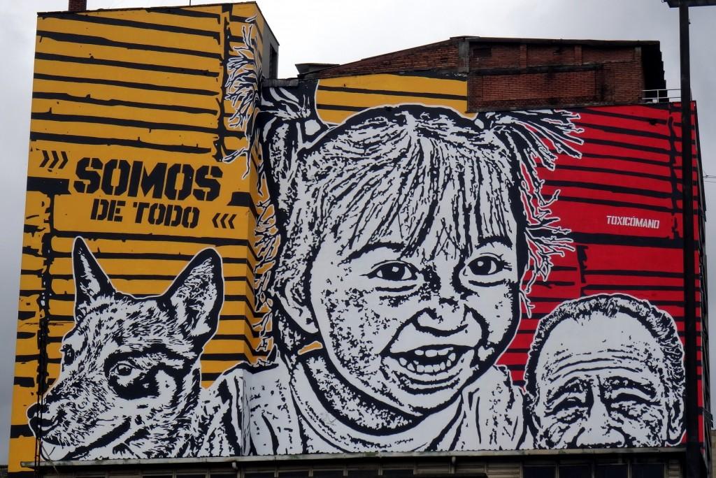 Bogota Graffiti Tour Toxicomano