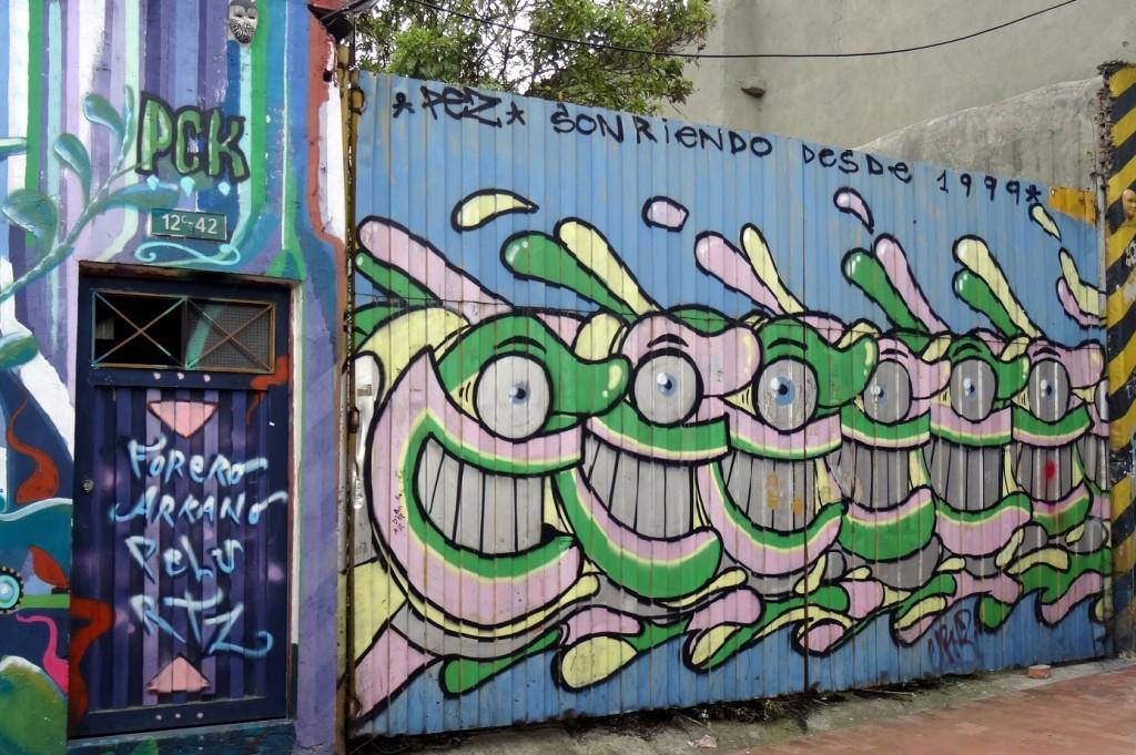 Bogota Graffiti Tour Pez