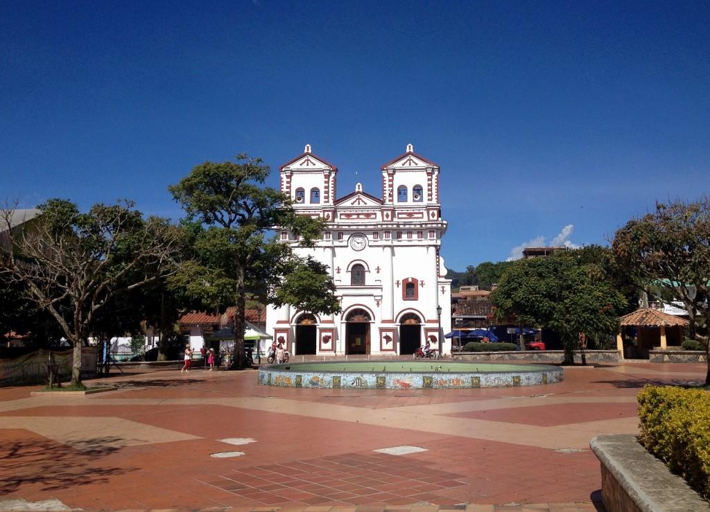 Eglise de Guatapé Antioquia Colombie