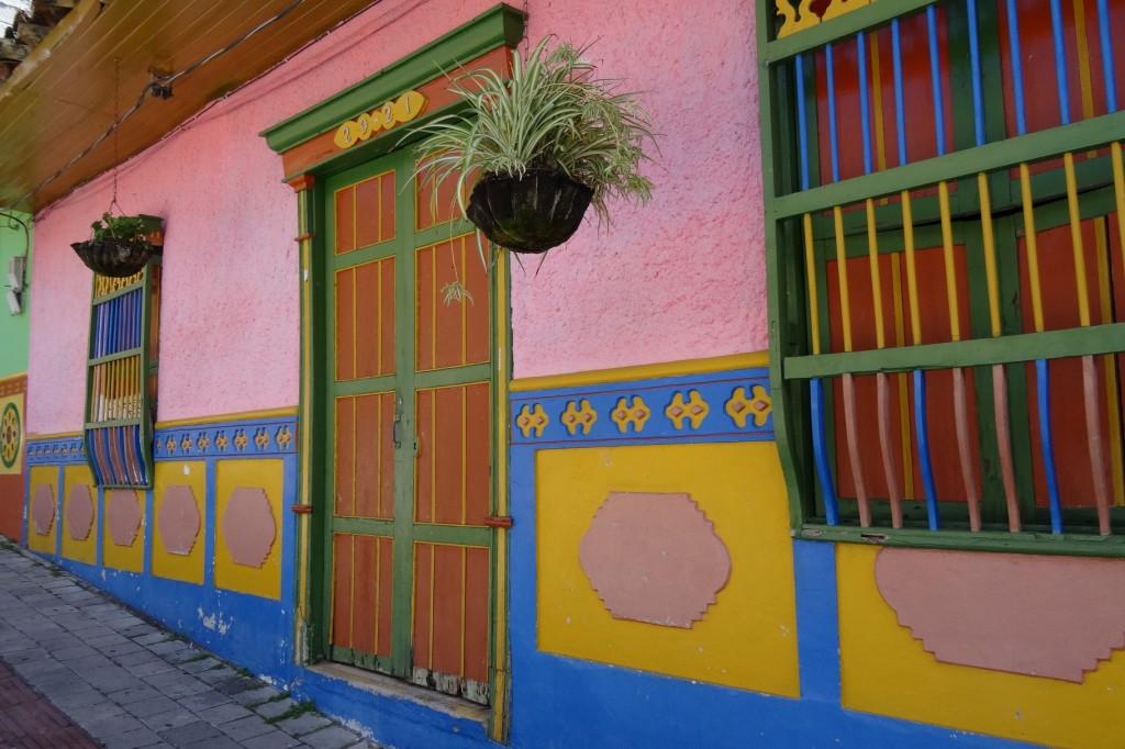Maison colorée Guatapé Antioquia Colombie