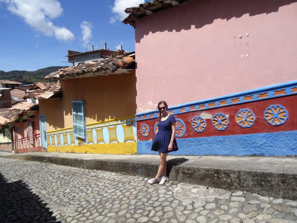 Maisons colorées Guatapé Antioquia Colombie