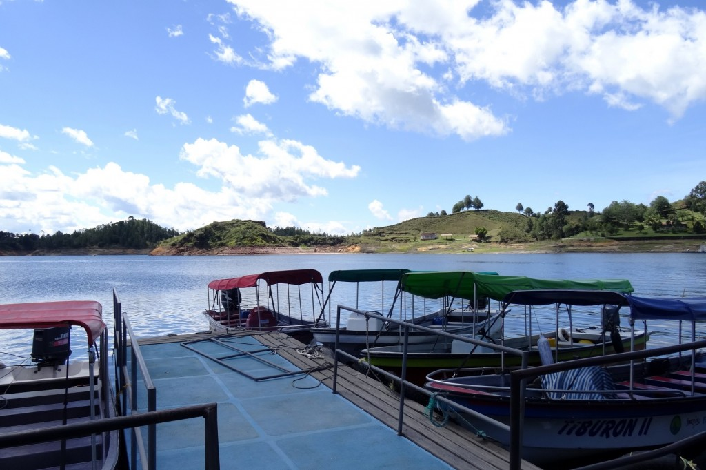 Balade en bateau autour de Guatapé Antioquia Colombie
