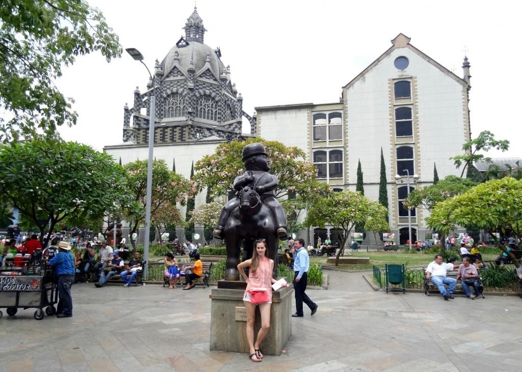 Plaza Botero Medellin Antioquia Colombie