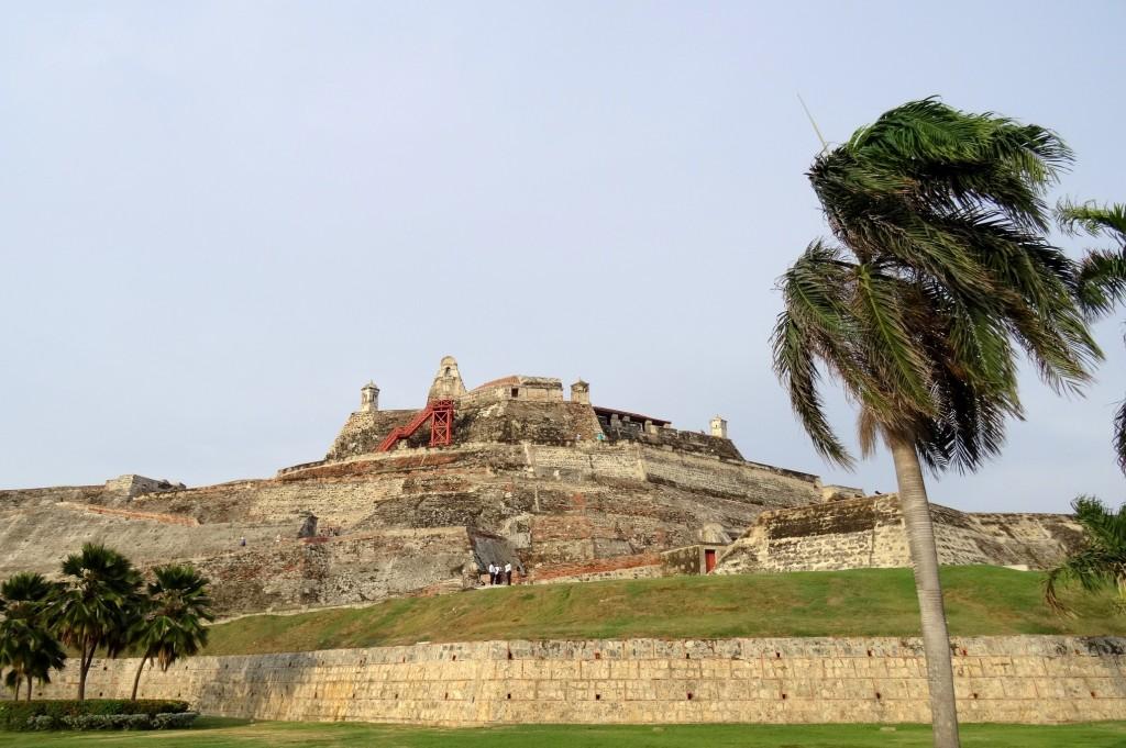 Castillo de San Felipe de Barajas à Carthagène des Indes