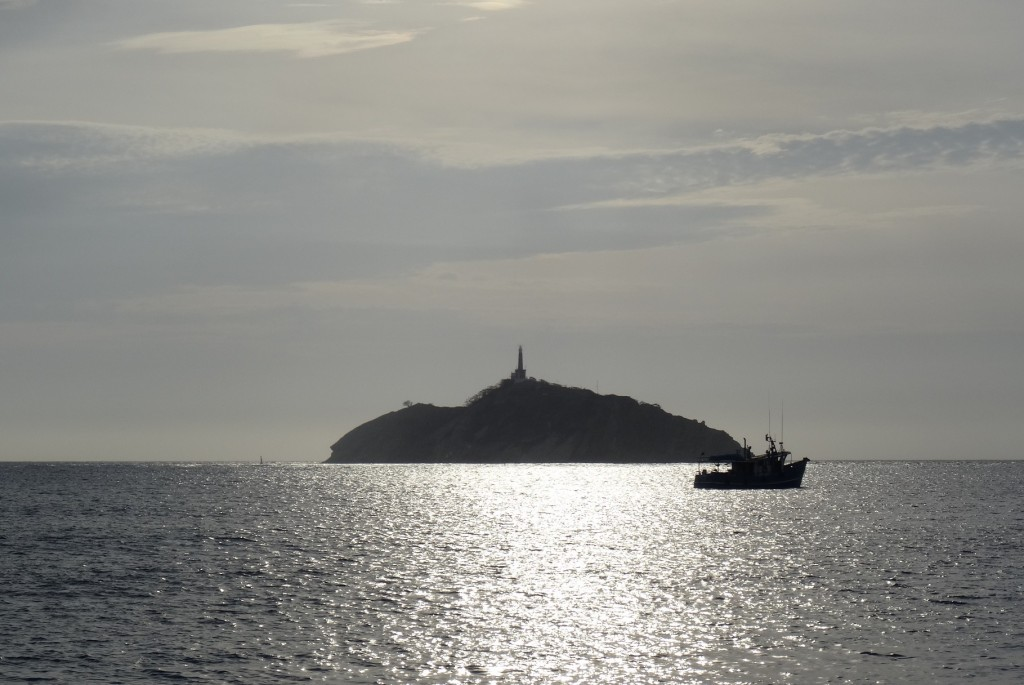Ile au large de Santa Marta Colombie