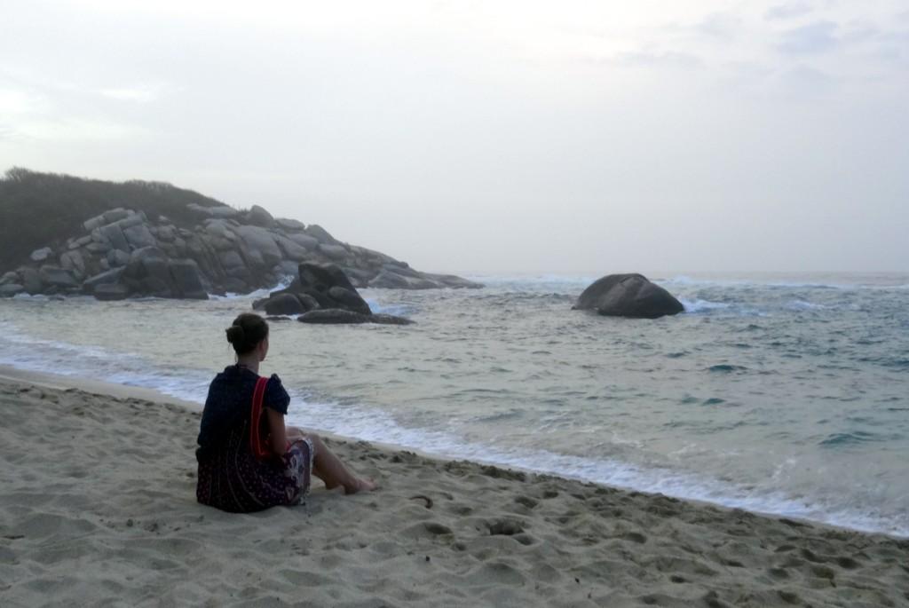 Plage à Cabo San Juan Tayrona en Colombie