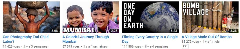 Le monde en vidéos Seeker stories chaîne youtube