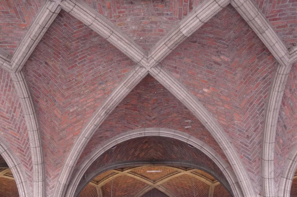 Entrée de la bibliothèque universitaire de Louvain