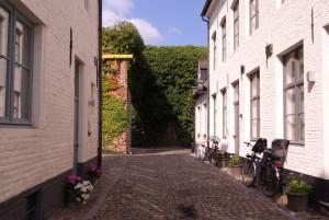 Petit béguinage à Louvain