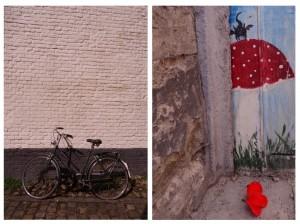 Vélo et street art à Louvain