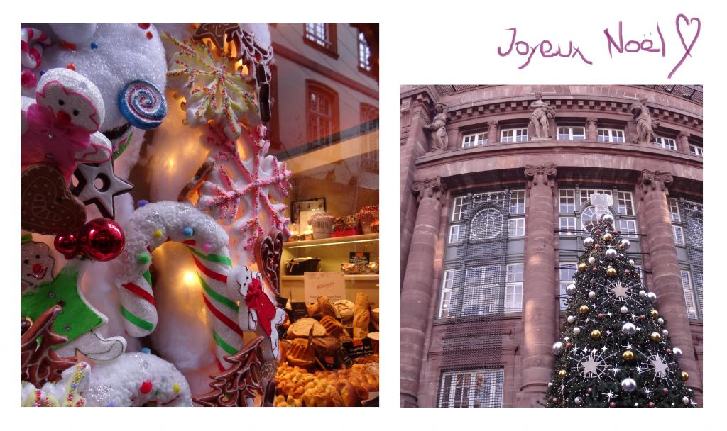 Décoration d'une boulangerie et des galeries Lafayette pour le marché de Noël de Strasbourg - Cookie et Attila 8a
