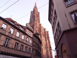 Maison Kammerzell et cathédrale Notre Dame de Strasbourg