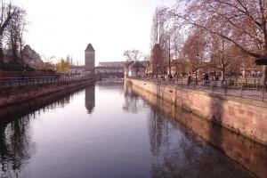 Pont couverts à Strasbourg en Alsace