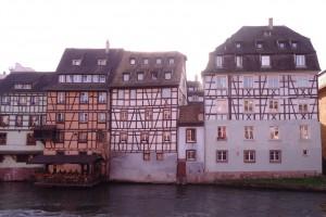 Maisons à colombages à Strasbourg en Alsace
