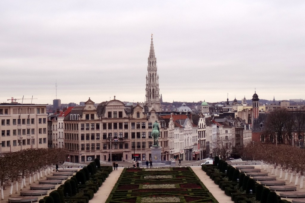 Bruxelles froide mais belle - Cookie et Attila 15