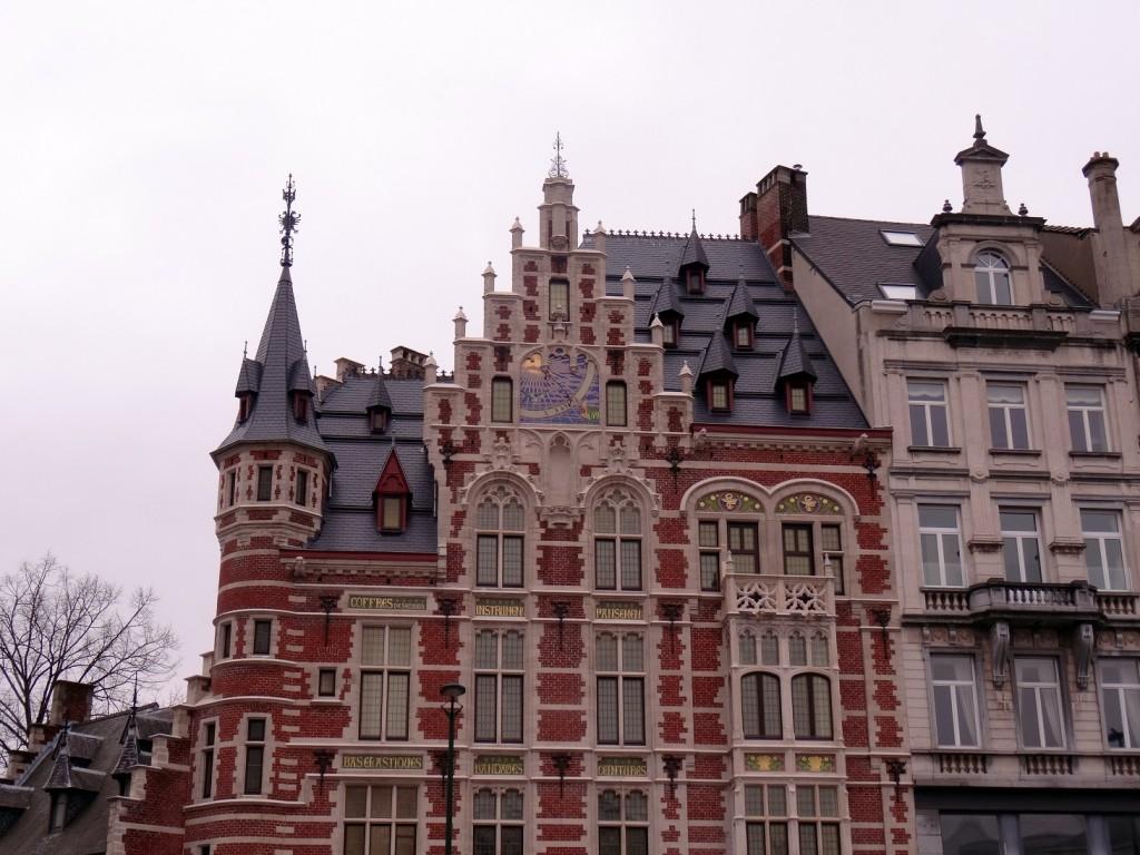 Bruxelles froide mais belle - Cookie et Attila 16