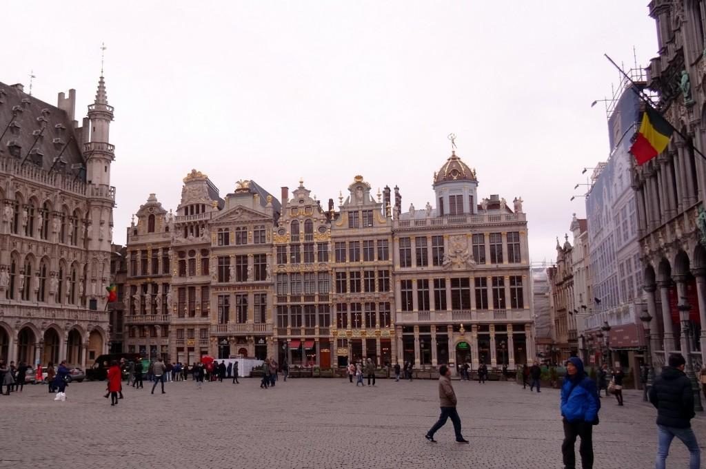 Bruxelles froide mais belle - Cookie et Attila 6