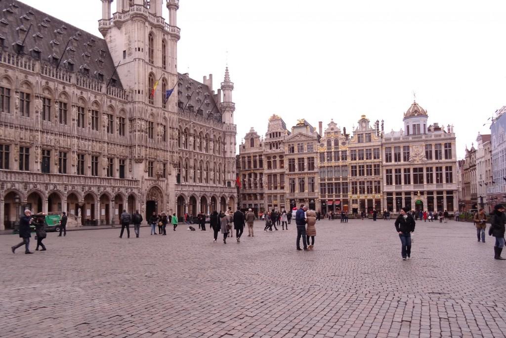 Bruxelles froide mais belle - Cookie et Attila 7