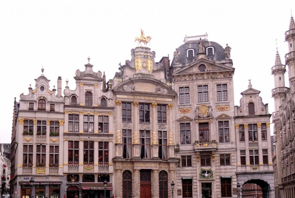 Bruxelles froide mais belle - Cookie et Attila 8