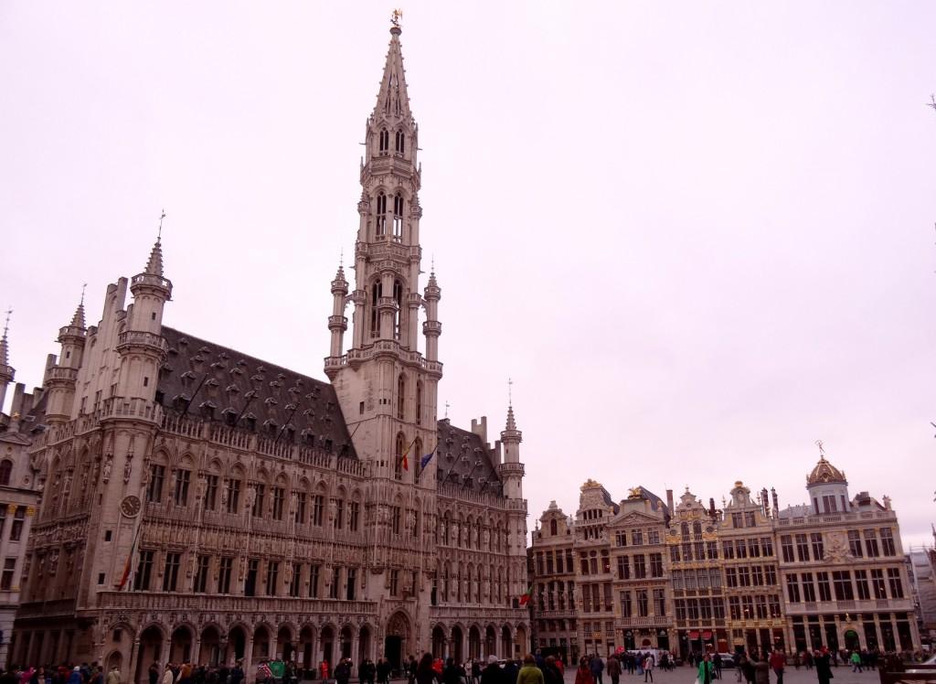 Bruxelles froide mais belle - Cookie et Attila 9