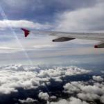 En avion au dessus de la Colombie