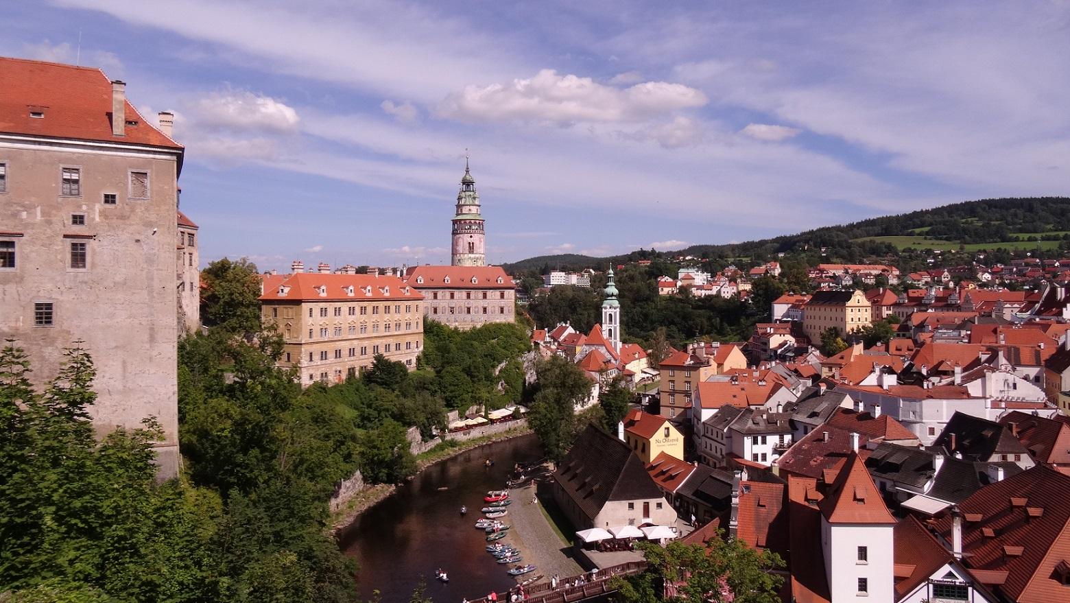 Cesky Krumlov, petite Prague médiévale