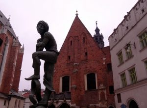 City trip à Cracovie sous la pluie