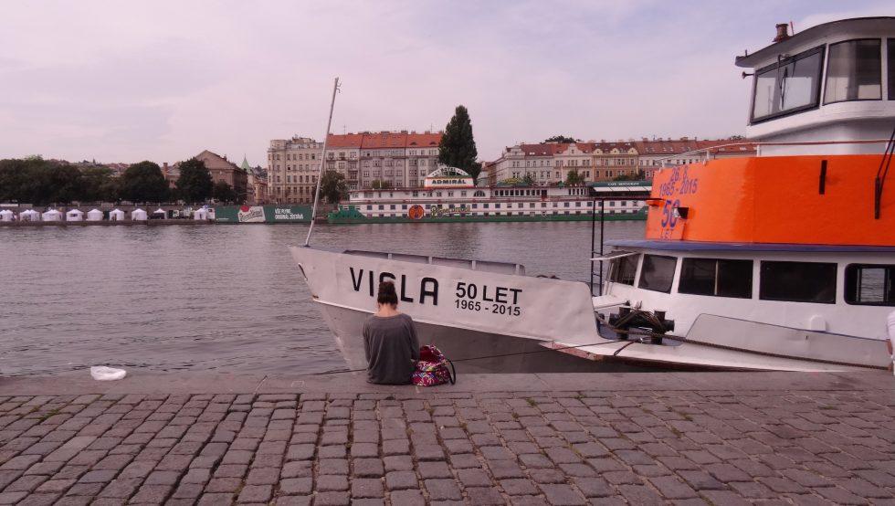Naplavka Prague - Cookie et Attila 1