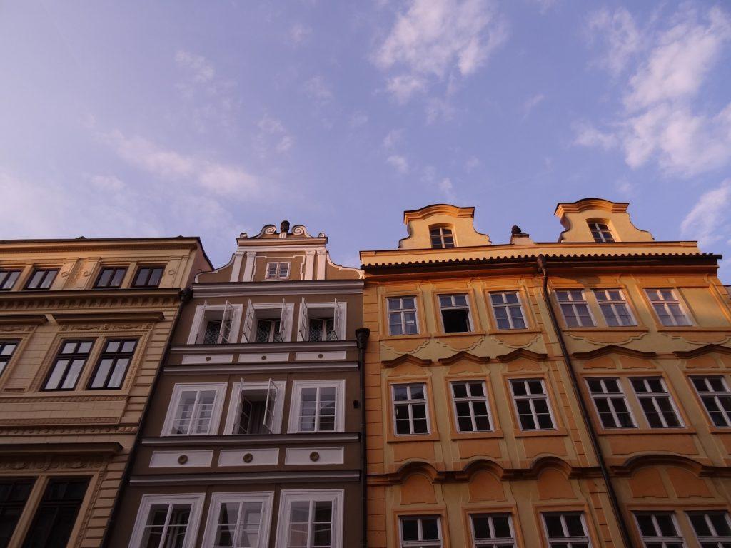 Les sublimes façades des rues de Prague