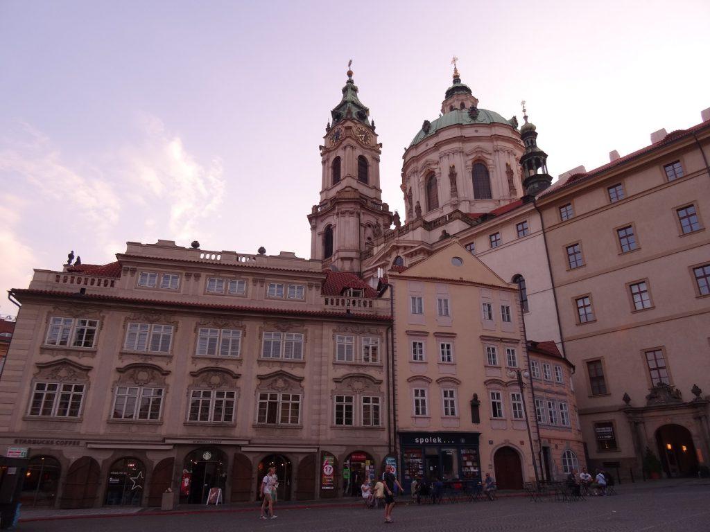 L'Eglise Saint-Nicolas de Mala Strana à Prague