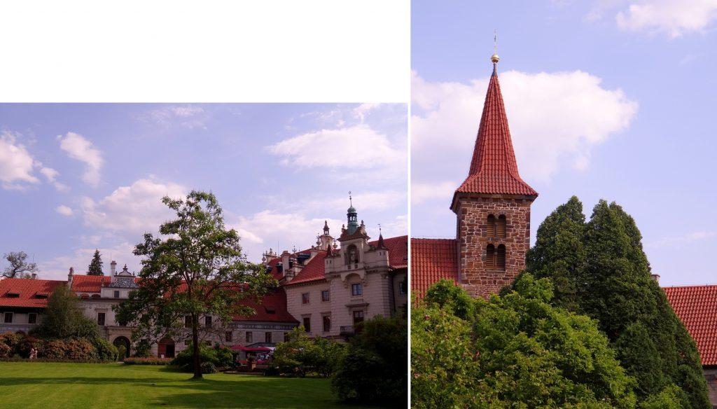 Le château de Pruhonice